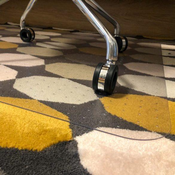 FloorMet Prémium Carpet székalátét 1200×1000×2 mm (szőnyeg, szőnyegpadló)