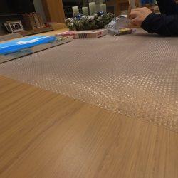 Padlóvédelem.hu asztalvédő 1450x500x1,3 mm